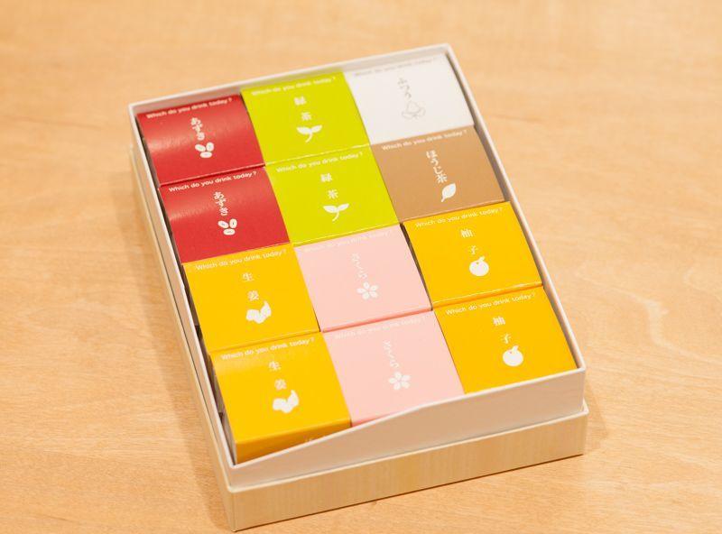 画像1: 吉野葛湯 贈答箱入り12個セット (1)